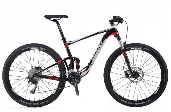 Двухподвесный велосипед Giant Anthem 27.5 3 (2014)