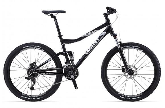 Двухподвесный велосипед Giant Yukon FX (2014)