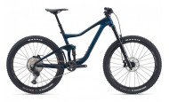 Двухподвесный велосипед Giant Trance Advanced (2021) темно-синий M