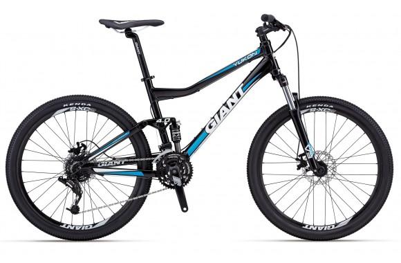 Двухподвесный велосипед Giant Yukon FX2 (2012)
